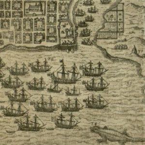 Battle of Santo Domingo on Hispaniola