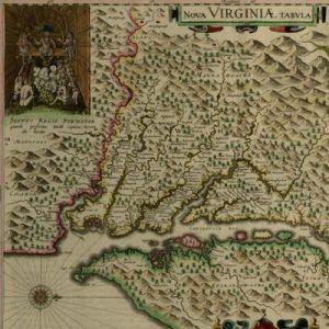 Nova Virginiae tabvla