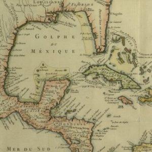 Carte du Golphe du Méxique et des isles de l'Amérique